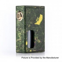 Authentic Wotofo RAM Bottom Feeder Squonk Mechanical Box Mod w/7ml Bottle - Resin Green