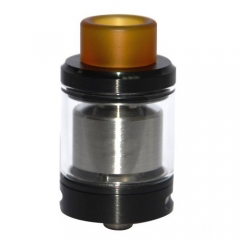 Serpent SMM Style 4ml RTA Rebuildable Tank Atomizer - Black