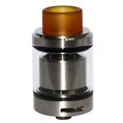 Serpent SMM Style 4ml RTA Rebuildable Tank Atomizer - Silver