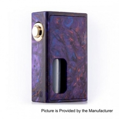 Authentic Wotofo RAM Bottom Feeder Squonk Mechanical Box Mod w/7ml Bottle - Resin Purple