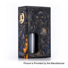 Authentic Wotofo RAM Bottom Feeder Squonk Mechanical Box Mod w/7ml Bottle - Resin Black