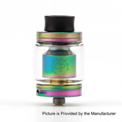Authentic ADVKEN CP 24mm RTA Rebuildable Tank Atomizer - Rainbow