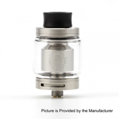 Authentic ADVKEN CP 24mm RTA Rebuildable Tank Atomizer - Silver