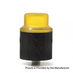 The Recoil V2 Style RDA Rebuildable Dripping Atomizer w/ BF Pin - Black