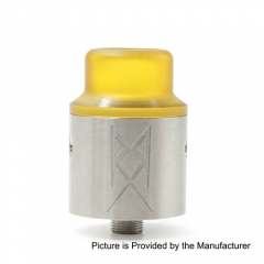 The Recoil V2 Style RDA Rebuildable Dripping Atomizer w/ BF Pin - Silver