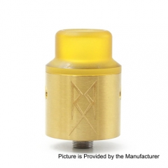The Recoil V2 Style RDA Rebuildable Dripping Atomizer - Gold