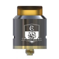 Authentic IJOY Combo RDA 25mm Rebuildable Dripping Atomizer - Gun Metal