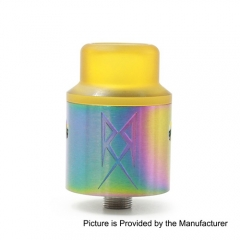 The Recoil V2 Style RDA Rebuildable Dripping Atomizer w/ BF Pin - Rainbow