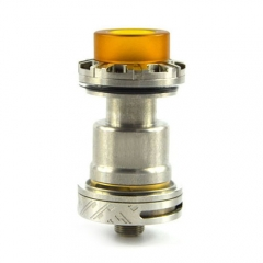 Reload 24mm Style RTA Rebuildable Tank Atomizer - Silver