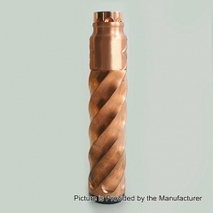 Comply Vortex Style Mechanical Mod w/ Battle Style RDA Kit - Copper