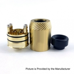 Reload V1.5 24mm Rebuildable Dripping Atomizer RDA - Gold