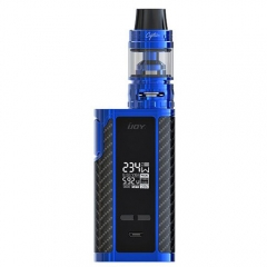Authentic  IJOY Captain PD270 234W TC APV Mod Kit - Blue