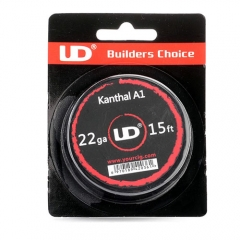 Authentic YouDe UD Kanthal A1 22 AWG Resistance Wire for RBA / RDA / RTA - Silver, 0.65mm Diameter