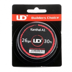 Authentic YouDe UD Kanthal A1 26 AWG Resistance Wire for RBA - 0.4mm Diameter