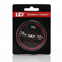 Authentic YouDe UD Kanthal A1 28 AWG Resistance Wire for RBA - 0.32mm Diameter