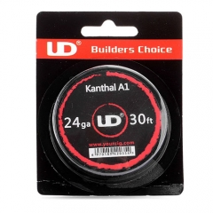 Authentic YouDe UD Kanthal A1 24 AWG Resistance Wire for RBA - 0.5mm Diameter