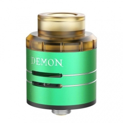 Authentic VOOPOO DEMON 24mm RDA Rebuildable Dripping Atomizer - Green
