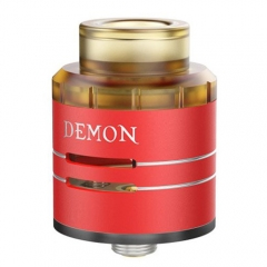 Authentic VOOPOO DEMON 24mm RDA Rebuildable Dripping Atomizer - Red