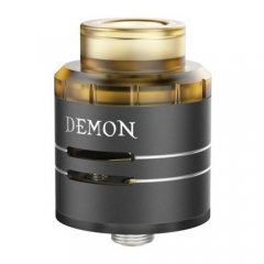 Authentic VOOPOO DEMON 24mm RDA Rebuildable Dripping Atomizer - Black