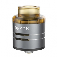Authentic VOOPOO DEMON 24mm RDA Rebuildable Dripping Atomizer - Gray