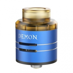 Authentic VOOPOO DEMON 24mm RDA Rebuildable Dripping Atomizer - Blue