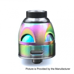 Galatek Style 24mm RDA Rebuildable Dripping Atomizer - Rainbow