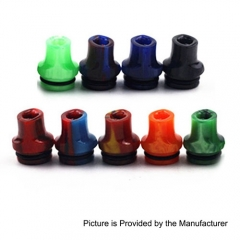 810 Flat Mouthpiece Drip Tip for TFV8 / TFV12 Tank / Goon / Kennedy / Battle RDA - Random Color