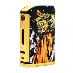 Authentic ASVAPE THE WALKING DEAD 200W TC VW Box Mod (Zombie) - Gold