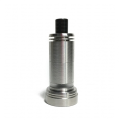 Ulton Das Tank Ding Style Rebuildable Tank Atomizer 6ml Edition with Logo - Silver