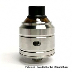 YFTK Comet BF Capable Style 316SS RDA Rebuildable Dripping Atomizer w/ Squonk Pin - Silver