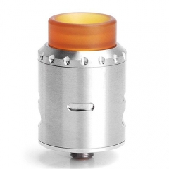 Musketeer Style 24mm RDA Rebuildable Dripping Atomizer - Silver