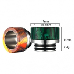 810 Resin Drip Tip For Smok TFV8 Clearomizer - Random Color