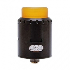 Musketeer Style 24mm RDA Rebuildable Dripping Atomizer - Black
