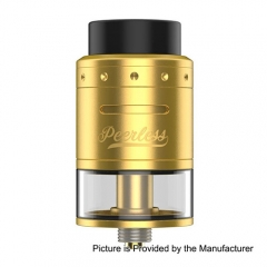 GeekVape Peerless RDTA 4ml Rebuildable Dripping Tank Atomizer - Gold