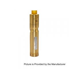 Authentic Centsu Vape Hanglee 25mm Hybrid Mechanical Mod + Hanglee RDA Kit - Brass