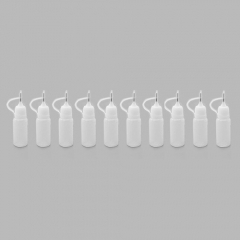 E-liquid Refiller Bottle for Electronic Cigarette (10-Pack / 10mL)
