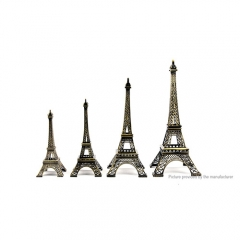 Eiffel Tower Model Metal Ornament Wedding Gift (25cm)
