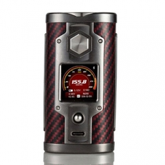 Authentic YiHi SX mini G Class YiHi SX550J  200W TC VV Box Mod Carbon Fiber - Red