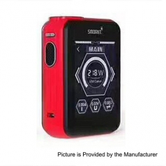 Smoant Charon TS 218 Touch Screen TC VW Variable Wattage Box Mod - Red