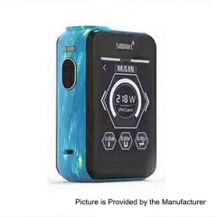 Smoant Charon TS 218 Touch Screen TC VW Variable Wattage Box Mod - Paiting Blue
