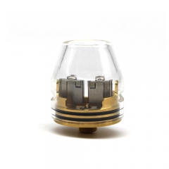 Kryten Style 24mm RDA Rebuildable Dripping Atomizer - Gold