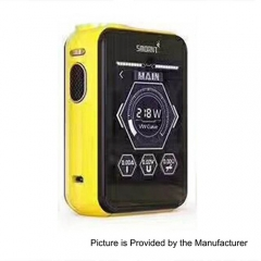 Smoant Charon TS 218 Touch Screen TC VW Variable Wattage Box Mod - Yellow