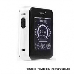 Smoant Charon TS 218 Touch Screen TC VW Variable Wattage Box Mod - White