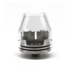 Kryten Style 24mm RDA Rebuildable Dripping Atomizer - Silver