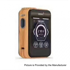 Smoant Charon TS 218 Touch Screen TC VW Variable Wattage Box Mod - Orange