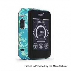 Smoant Charon TS 218 Touch Screen TC VW Variable Wattage Box Mod - Sky Blue Digi Camo