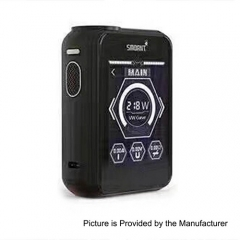 Smoant Charon TS 218 Touch Screen TC VW Variable Wattage Box Mod - Black