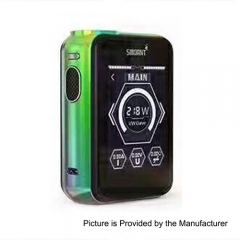 s Smoant Charon TS 218 Touch Screen TC VW Variable Wattage Box Mod - Green