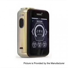 Smoant Charon TS 218 Touch Screen TC VW Variable Wattage Box Mod - Champagne