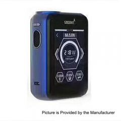 Smoant Charon TS 218 Touch Screen TC VW Variable Wattage Box Mod - Deep Blue